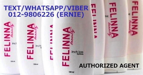 FELINNA INCHLOSS LOTION AUTHORIZED AGENT