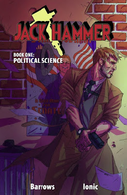 Cover of Jack Hammer: Political Science from Action Lab Entertainment