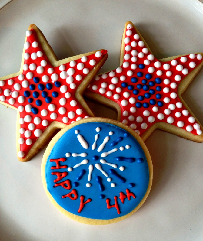 The Holland House: 4th of July cookies