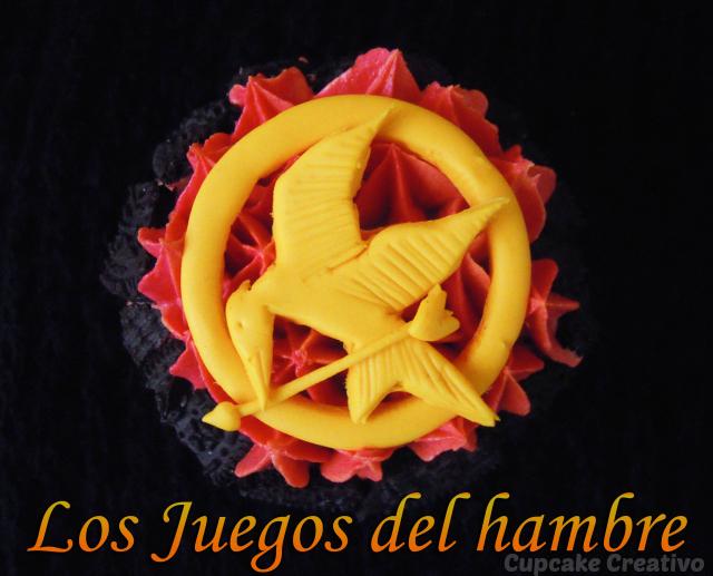 Cupcakes Los Juegos Del Hambre En Llamas Tutorial