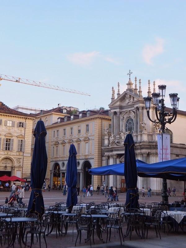 Turin Italie piazza San Carlo