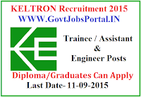 KELTRON REcruitment 2015