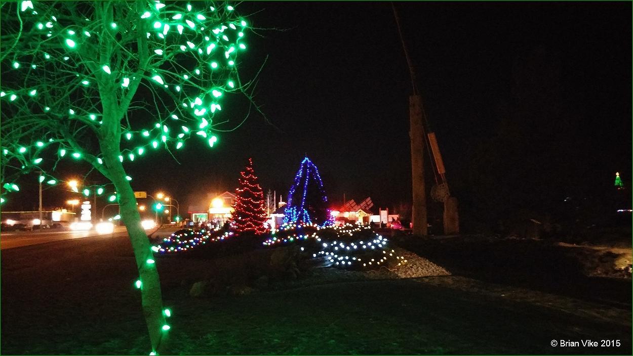 above photo christmas lights in houstons steelhead park - Christmas In Houston 2015
