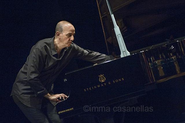 Agustí Fernández, Mercat de les Flors, Sala Ovidi Montllor, Barcelona 20-7-2015