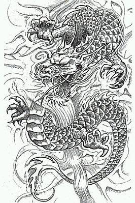 banco de imagenes y fotos gratis tatoos y tatuajes de dragones en blanco y negro parte 2. Black Bedroom Furniture Sets. Home Design Ideas