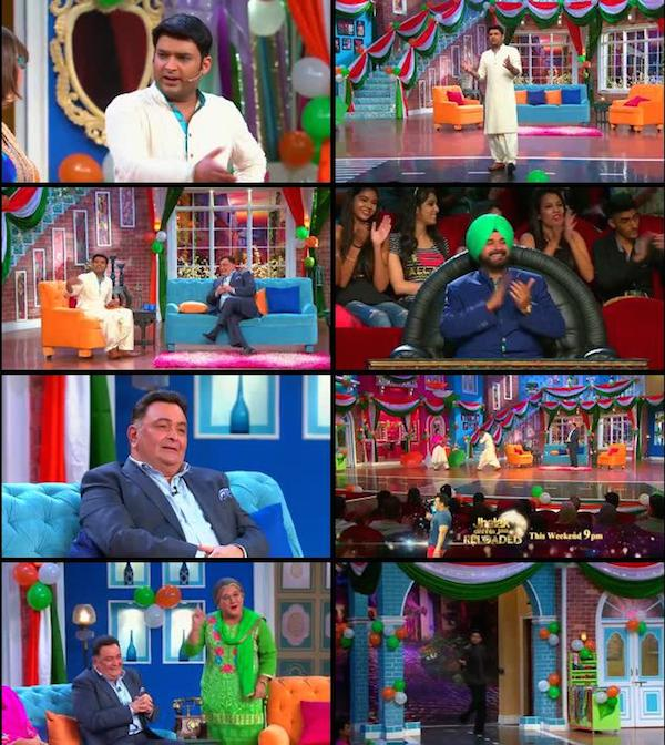 Comedy Nights With Kapil 16 Aug 2015 HDTV 480p