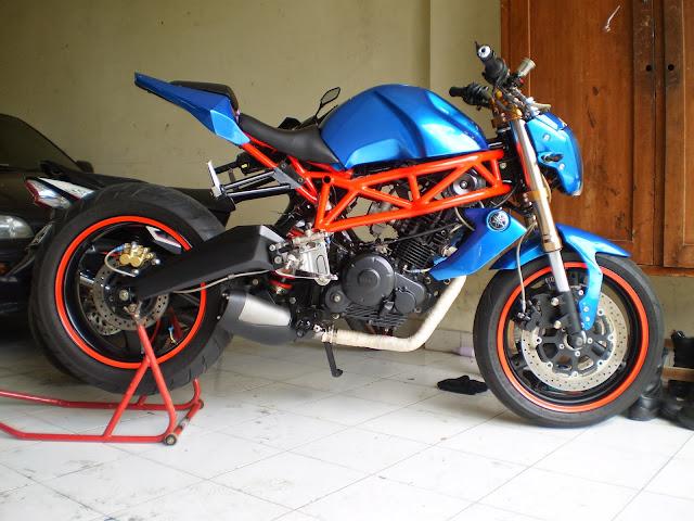 Yamaha Byson Tampil Gagah bergaya Street Fighter