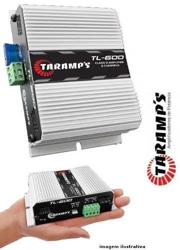 Amplificador Digital Classe D - Taramps Tl-600 - 2 Canais  - R$ 150,00