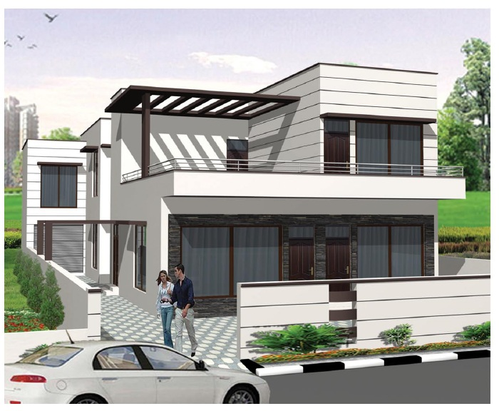 Front Elevation Designs Latest : Latest front elevation of home designs joy studio design