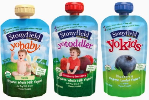 Stonyfield Pouches