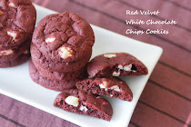 Red Velvet White Choc Chips