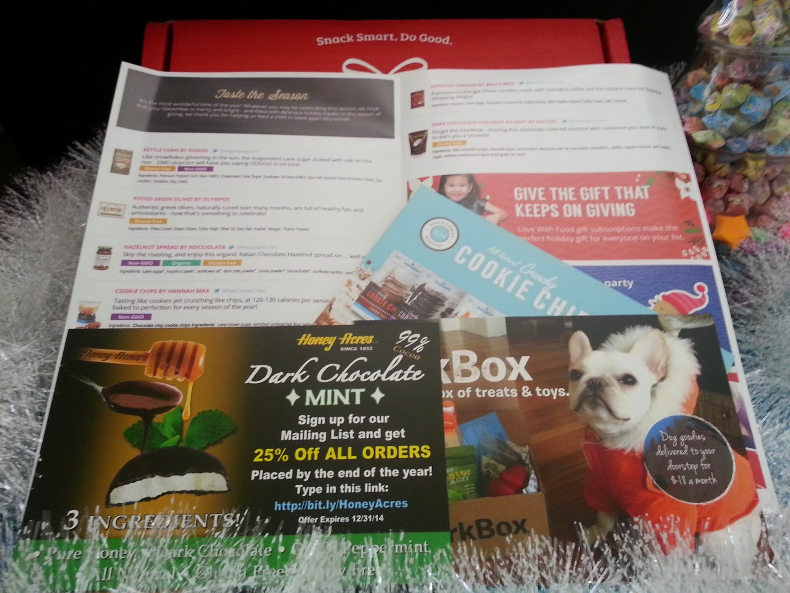 December Love with Food box