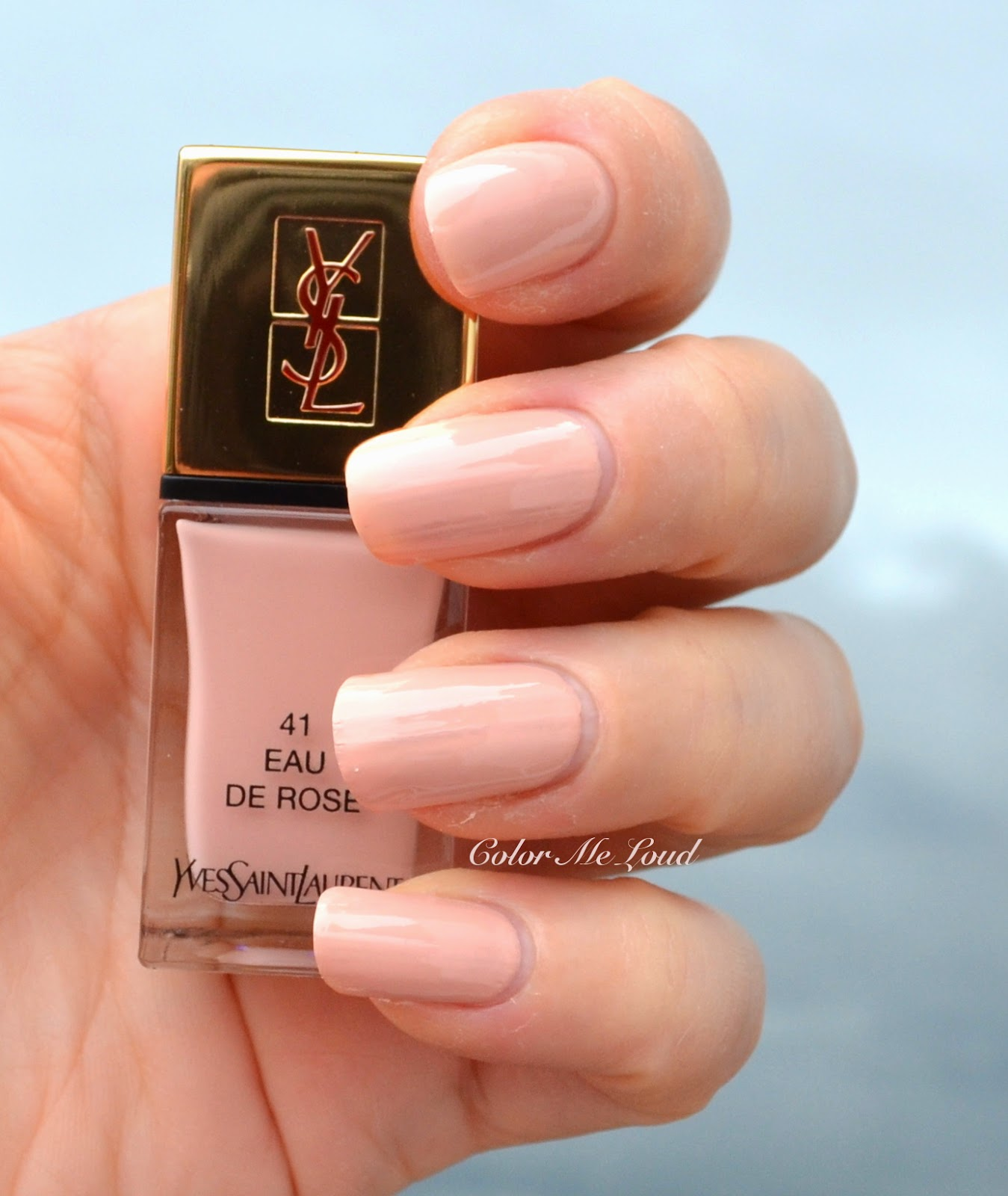 Yves Saint Laurent La Laque Couture #41 Eau de Rose, #43 ...
