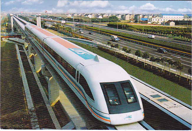 Discover the World on Trains: Shanghai Maglev Train, China
