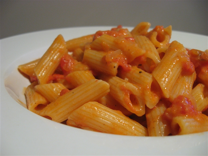 Morsels and Musings: penne alla vodka