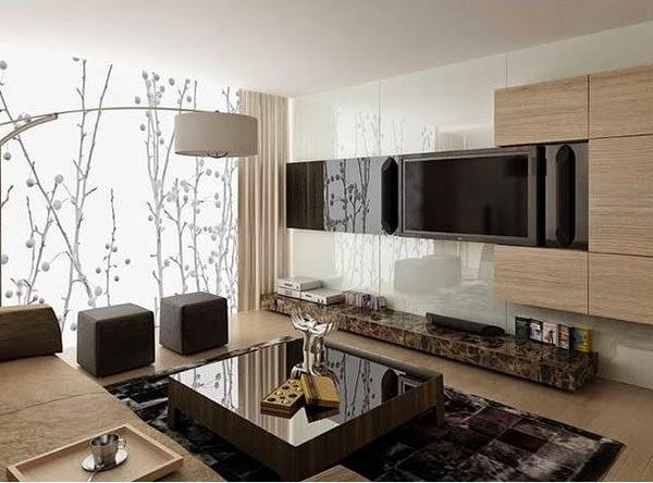 Conceptions Modernes Des Sous-Sol En Salon ~ Décoration Salon