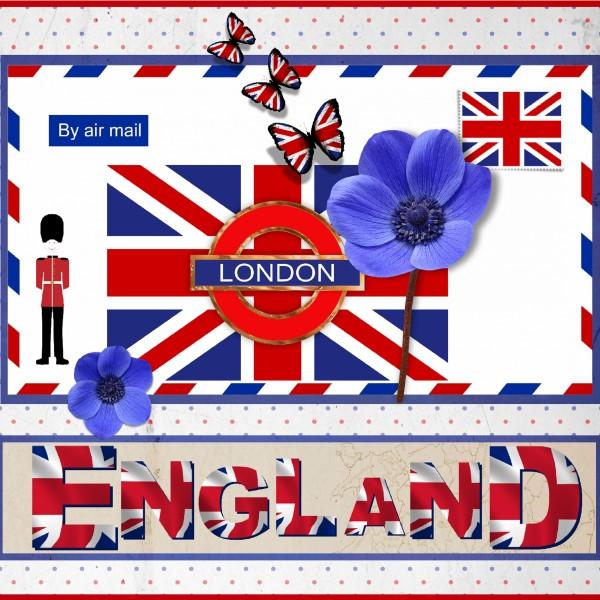 April 2016 - England