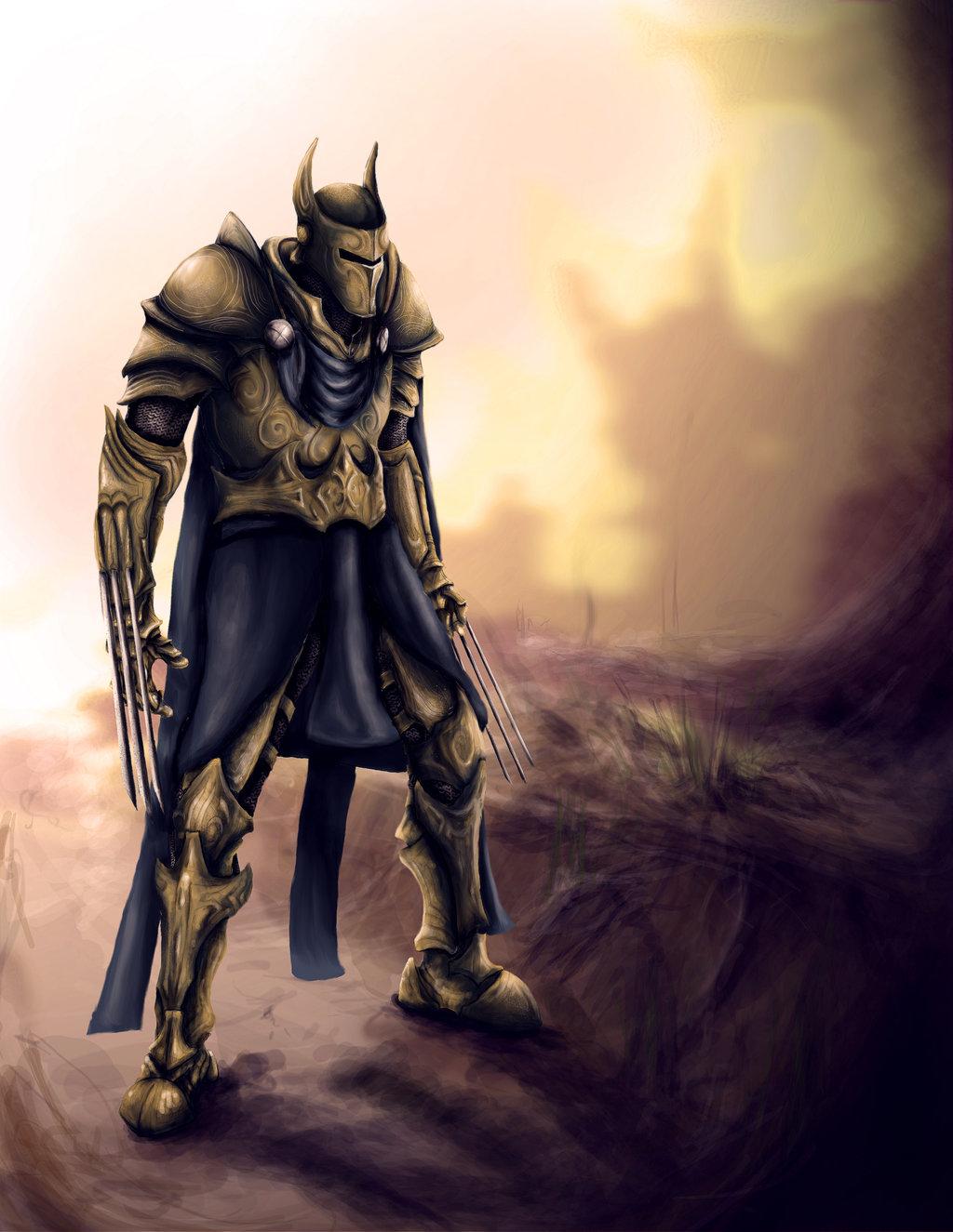 Medieval Avengers: Wolverine por pxpxp