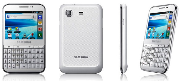 galaxy pro b7510 white price samsung