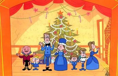 Closing curtain call of Mr Magoo's Christmas