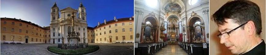 Kościół Pijarów w Wiedniu. Proboszcz Ksiądz Mirosław Barański.  Msza święta w języku polskim