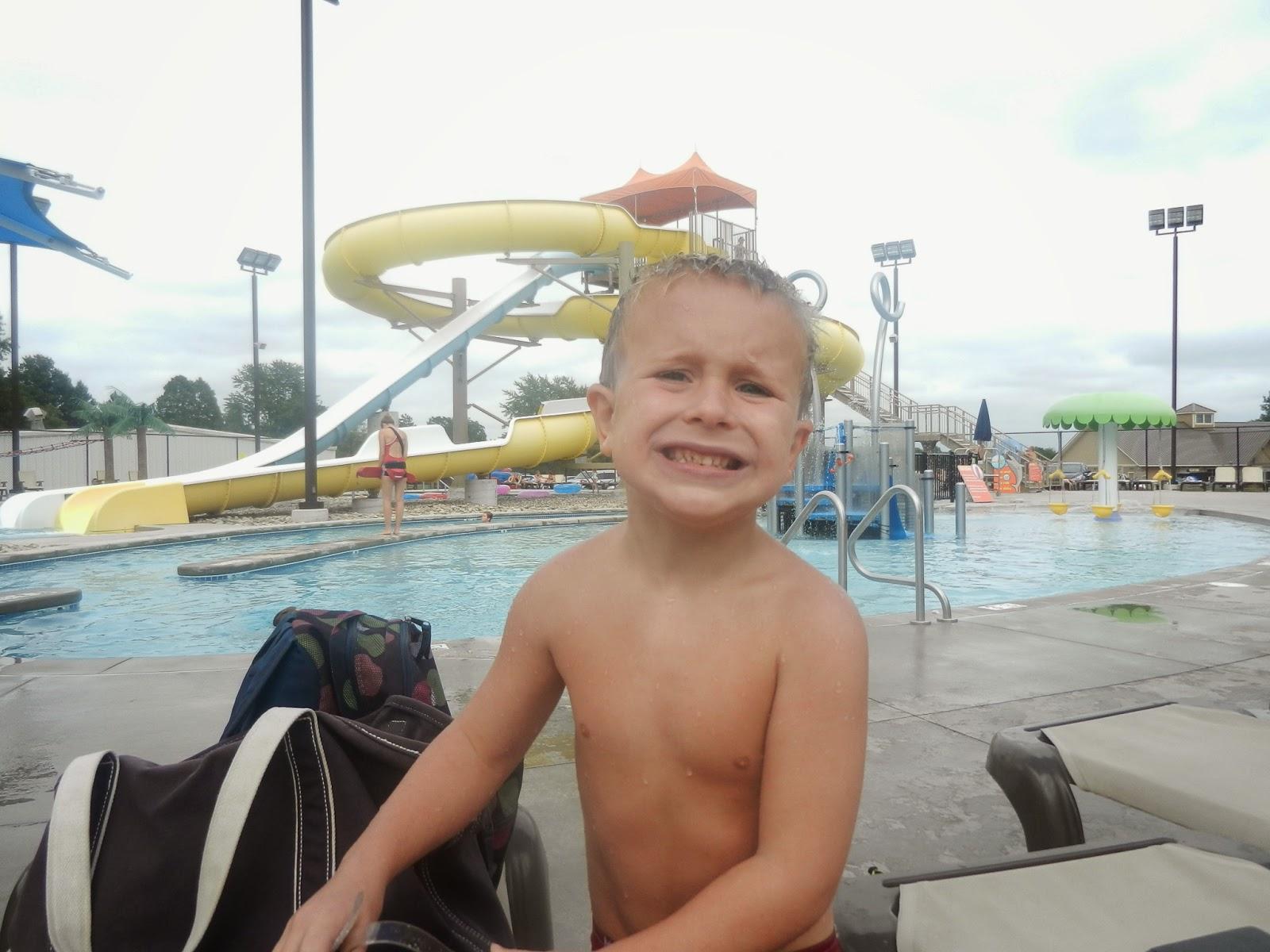 The kerrie show belton pool thanks tutu for Pool show 2014