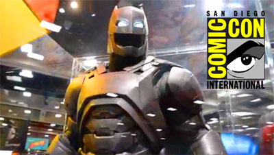 COMIC CON 2015 - BATMAN VS SUPERMAN: