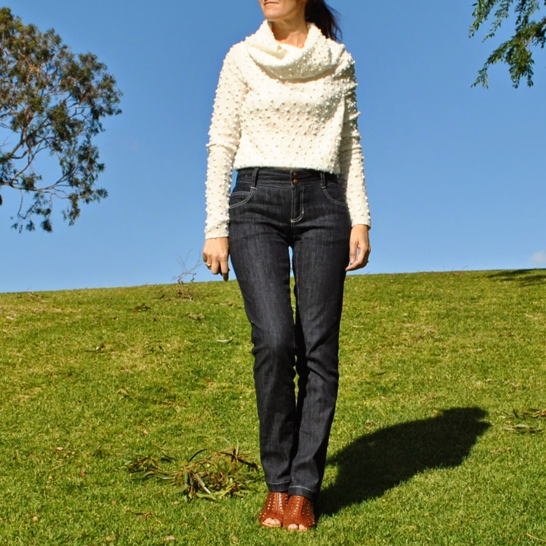 Handmade By Carolyn Ginger Jeans