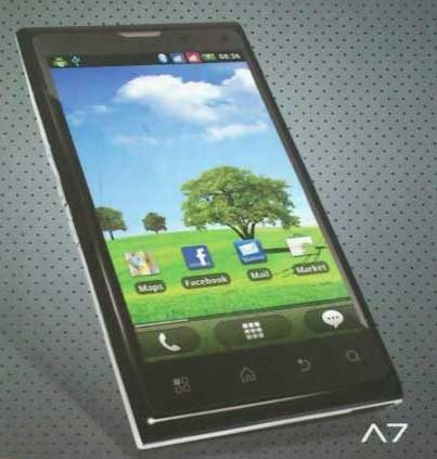 Hp Cross Android Andromeda A7