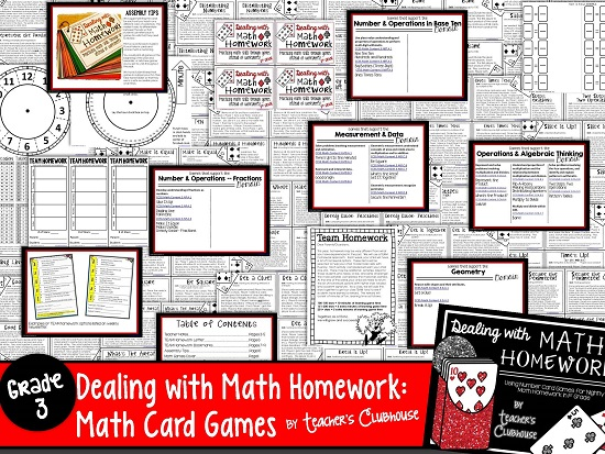 http://www.teacherspayteachers.com/Product/Dealing-with-Math-Homework-3rd-Grade-Math-Card-Games-Unit-1332789