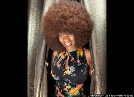 Aevin Dugas - Largest Afro