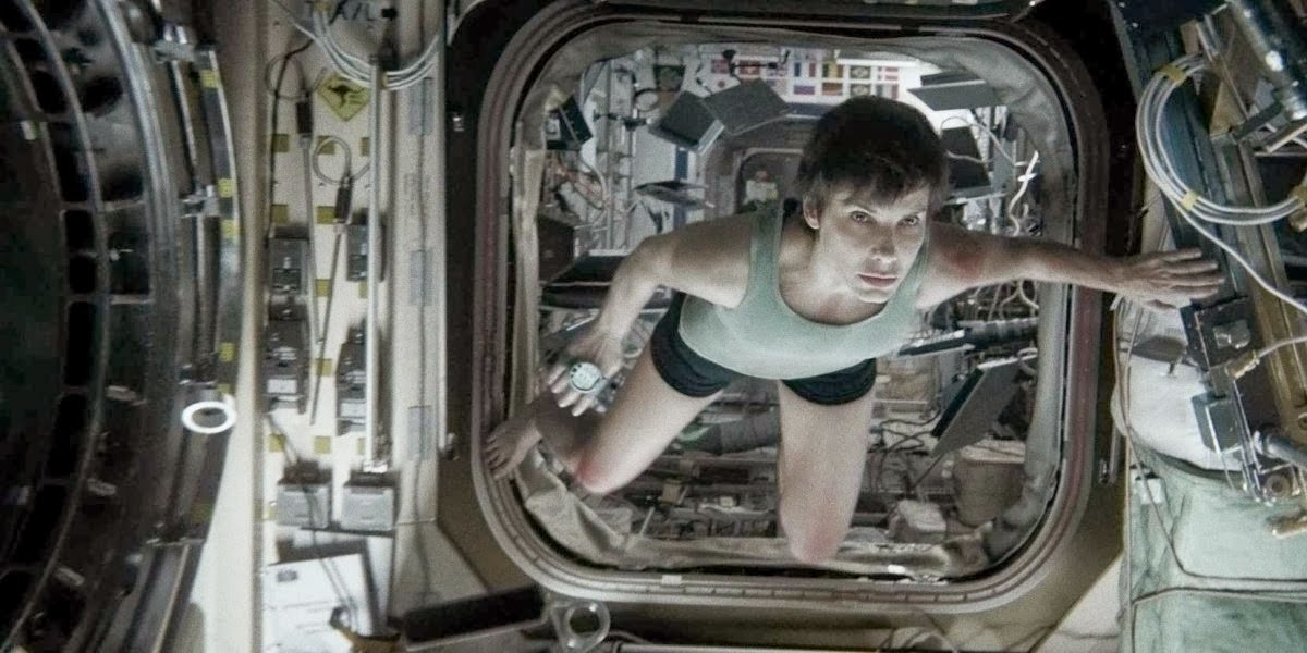Sandra Bullock Gravity (2013)