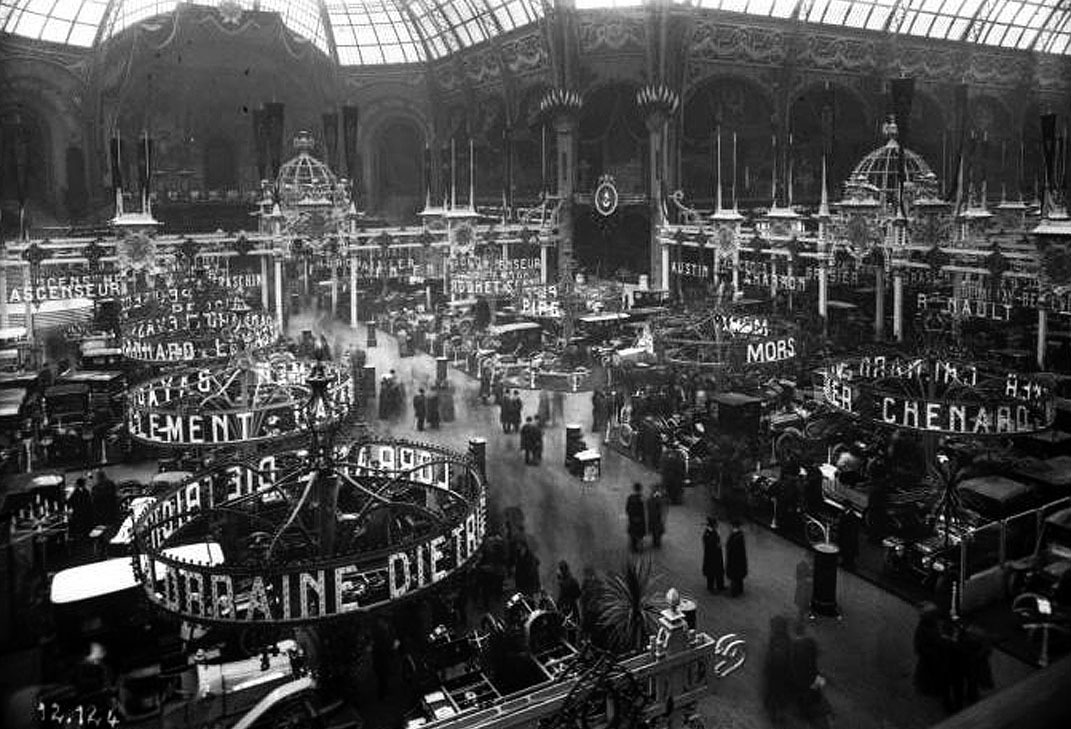 just a car guy some photos from the 1910 salon de l 39 automobile in the paris grand palace. Black Bedroom Furniture Sets. Home Design Ideas