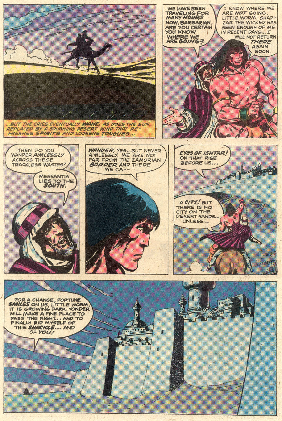 Conan the Barbarian (1970) Issue #116 #128 - English 10