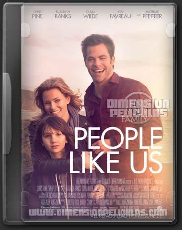 People Like Us (DVDRip Español Latino) (2012)