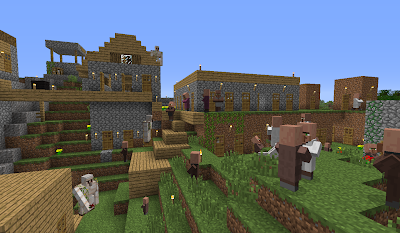 minecraft_RPG_town_NPC_Village_Golem