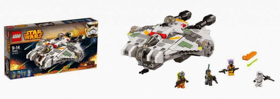 Lego Star Wars: Rebels, The Ghost - MojeKlocki24.pl