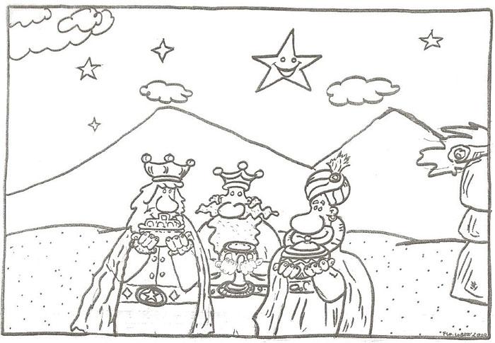 Ofrendas de los Reyes Magos