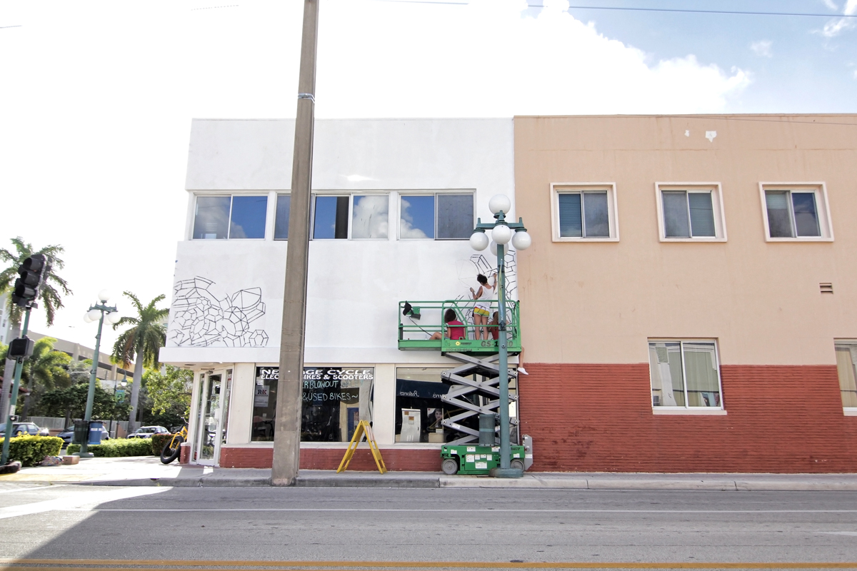 Jessy nite for Downtown hollywood mural project