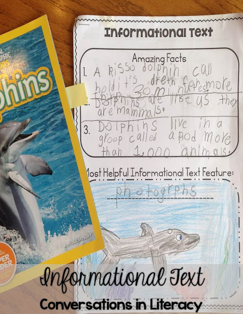 Give students choice with informational texts