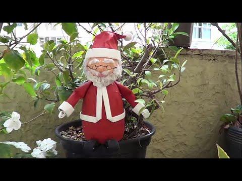 Cách làm ông già Noel từ chai nhựa mừng Giáng sinh - Christmas tại website www.HaAnPlastic.com