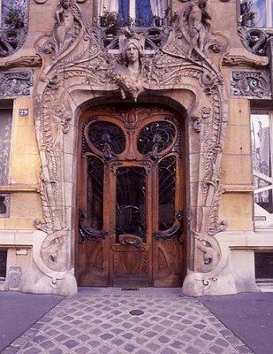Art Nouveau Design Elements. Art nouveau also had some