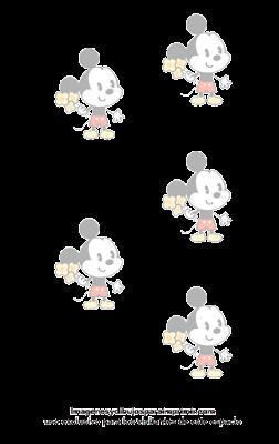 Papel para imprimir de mickey mouse