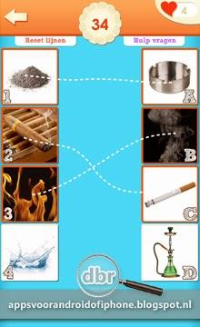 antwoorden match de plaatjes