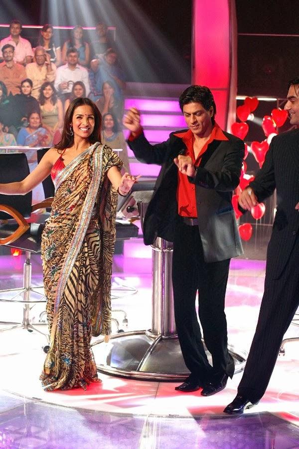 Malaika Arora Khan and Arbaaz Khan On KBC With Shahrukh Khan