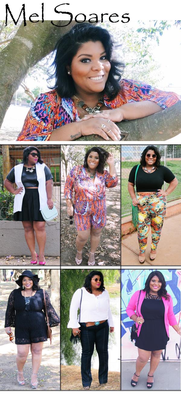 Blogueira Plus Size Relaxa aí Fofa Looks Modelo Curvy Estilo Fashion Blog Moda Beleza