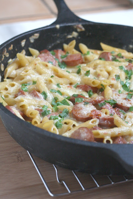 Spicy Sausage Pasta
