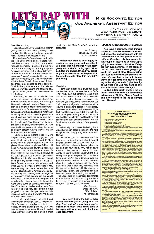 Captain America (1968) Issue #424 #374 - English 24