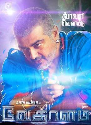 Vedalam (2015) Tamil Movie DVDRip 700mb Download