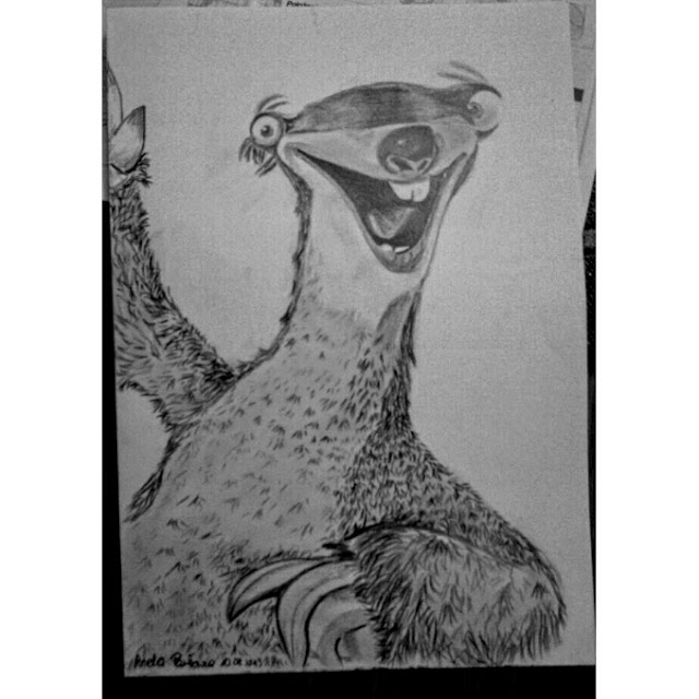 Rysunek Sid